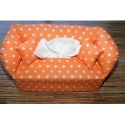Taschentuchsofa orange mit...