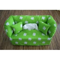 Taschentuchsofa grüne...