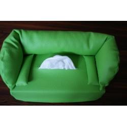Taschentuchsofa hellgrünes...