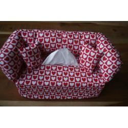 Taschentuchsofa weiß rote...