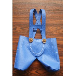 Lederhose blau