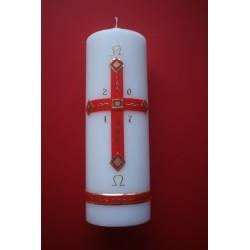 Osterkerze Kreuz