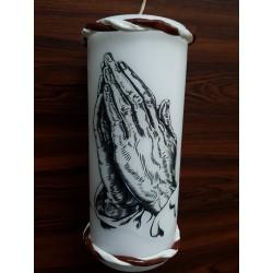Vater unser Kerze