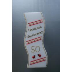 Geburtstagskerze Glückskäfer