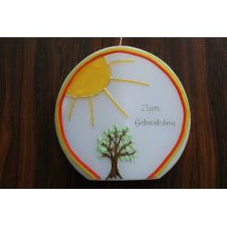 Geburtstagskerze Baum